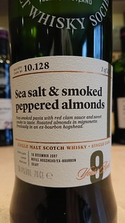 SMWS 10.128 - Sea salt & smoked peppered almonds