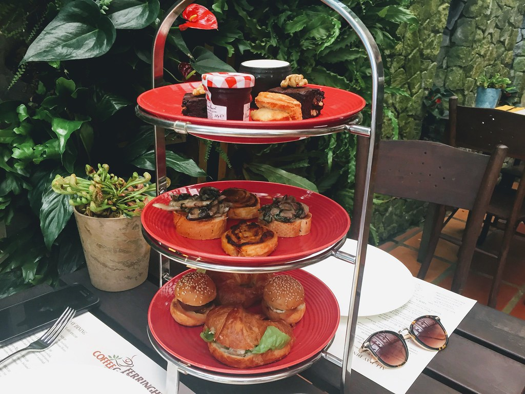 High tea at Ferringhi Coffee Garden
