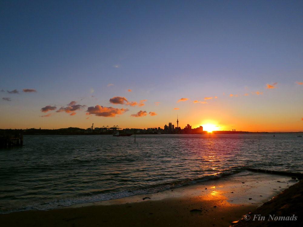Devonport sunset