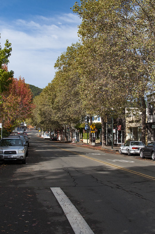 Fairfax Broadway street