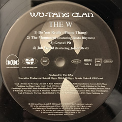 WU-TANG CLAN:THE W(LABEL SIDE-D)