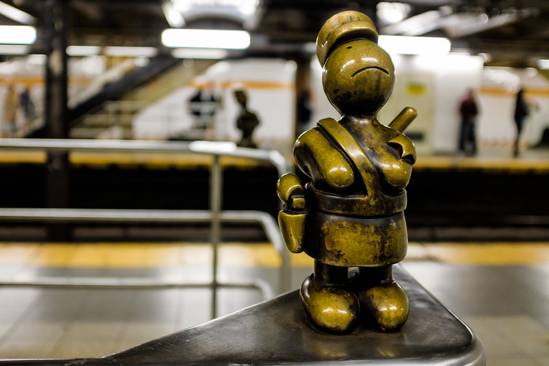 Walk In New York - NYC 2017 - Tom Otterness -Life Underground - 14th Street Eighth Avenue (4)