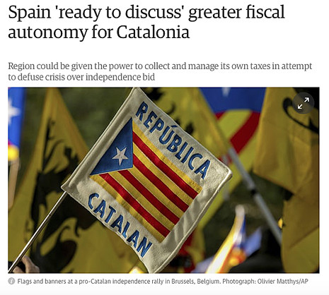 17k21 Spain 'ready to discuss' greater fiscal autonomy for Catalonia The Guardian Uti 465