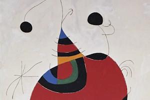Mujer, pájaro y estrella. (Homenaje a Picasso) 1966 - 73 (Detalle)