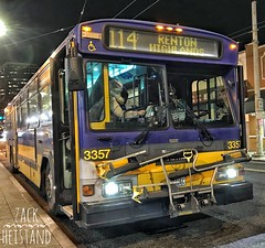 King County Metro 1996 Gillig Phantom 3357