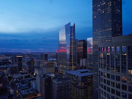 houstonskyline skyline skylinesunset houston houstontexas downtown downtownhouston