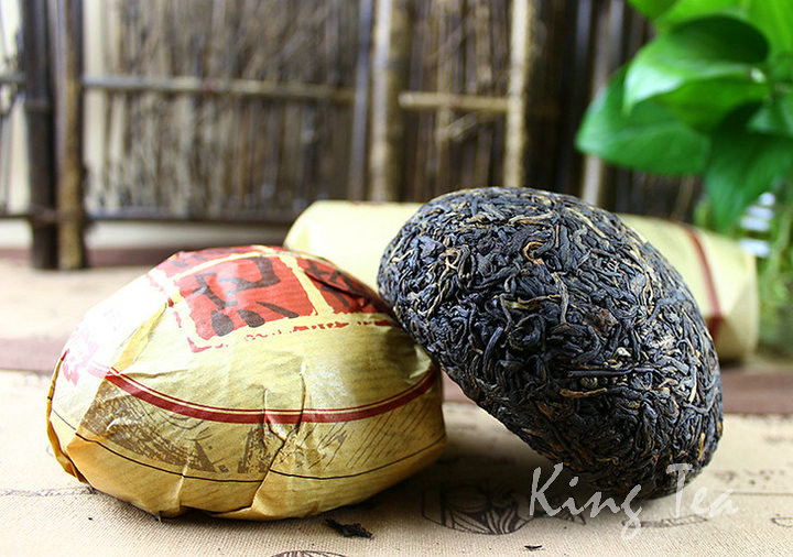 Free Shipping 2015 TAE DaYi MengHai Tuo Bowl  China YunNan MengHai Chinese Puer Puerh Ripe Tea Cooked Shou Cha Premium
