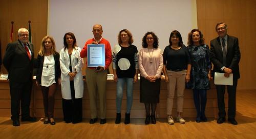 Centro de salud de Montequinto certificación de calidad
