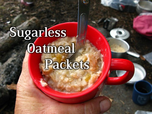 DIY Sugarless Instant Oatmeal Packets!