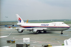 9M-MHJ Boeing 747-236B Malaysia Airlines