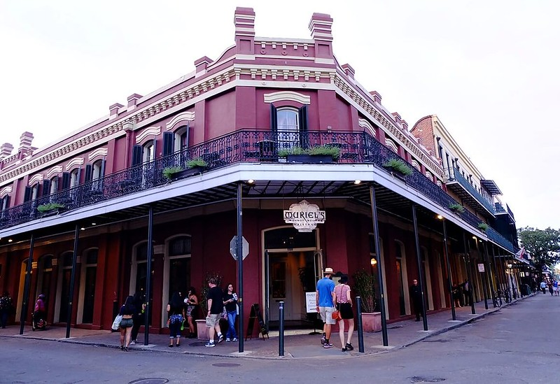 Stroll around the French Quarter