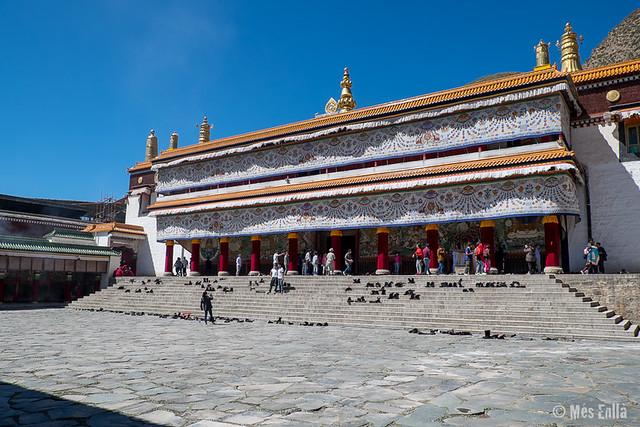 Monasterio de Labrang de la orden Gelukpa en Xiahe