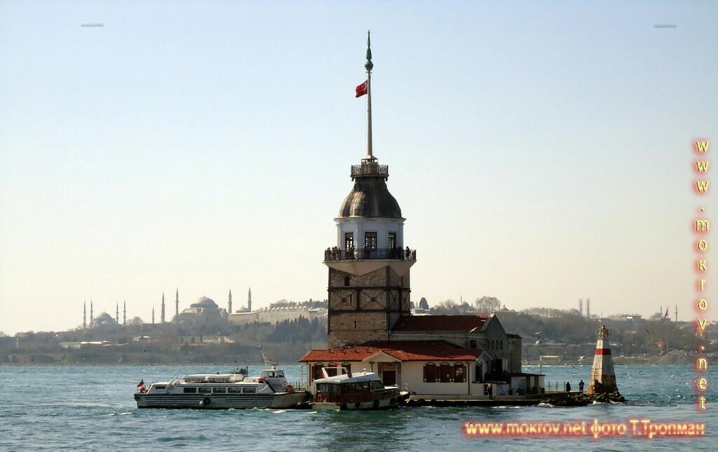 Город Стамбул Девичья башня.