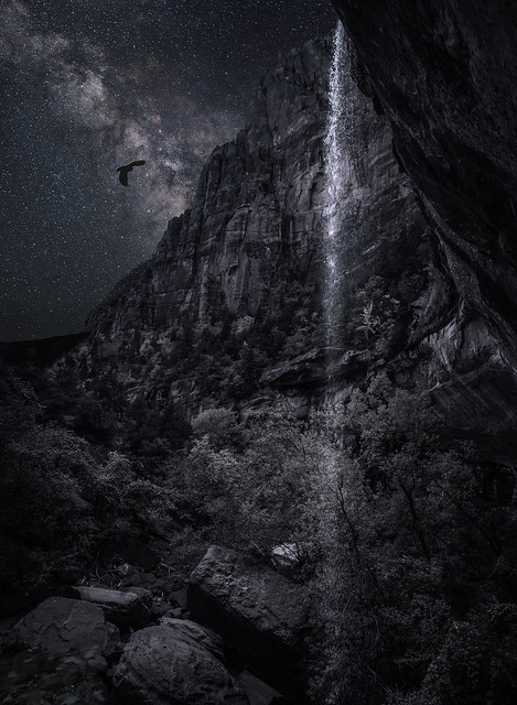 Zion Night - Composite