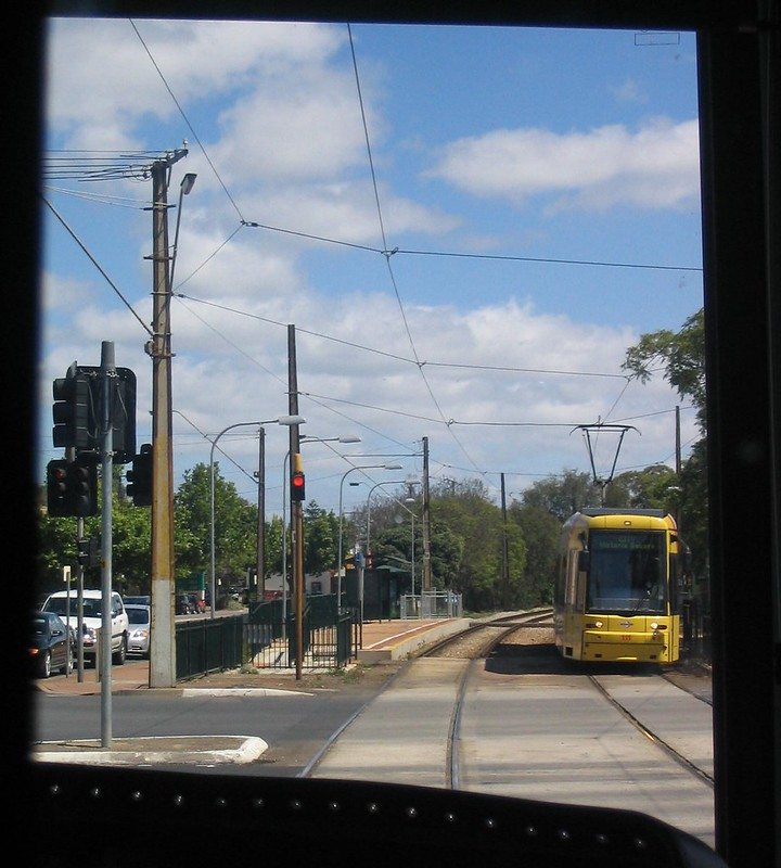 Adelaide trams 2007