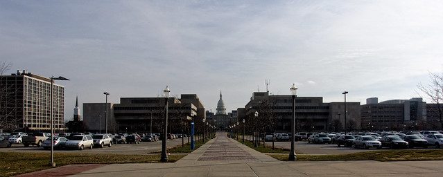 Towards Michigan's Capitol