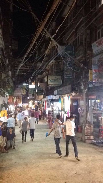 J3 : 23 septembre 2017 : 1er jour au Népal à Katmandou