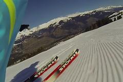 Jarňáky v Grisoňsku (4): Obersaxen - severní svahy jako lyžařovo vykoupení