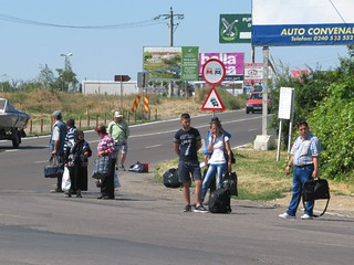 Romanian Hitchhikers