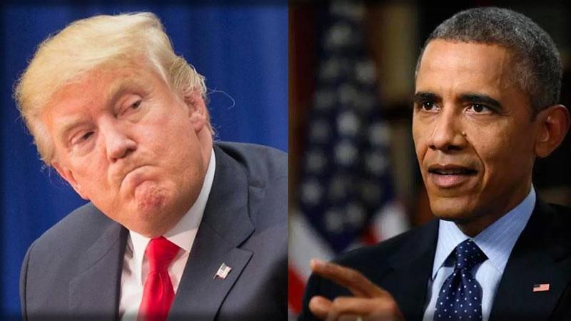 Donal Trump (kiri) dan Barack Obama (kanan) pernah berjanji untuk mengakui Yerusalem sebagai ibu kota Israel.