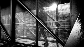 Commuting - Dublin, Ireland - Black and white street photography