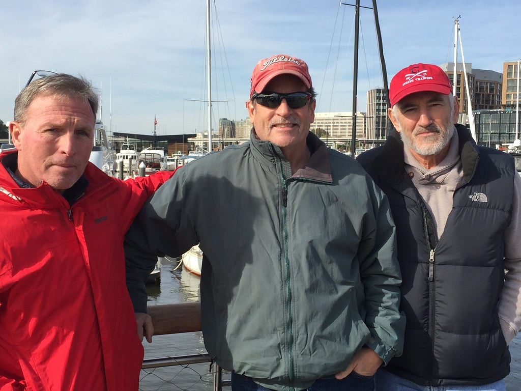 Wallen, Nooter and I at The Wharf in Washington DC