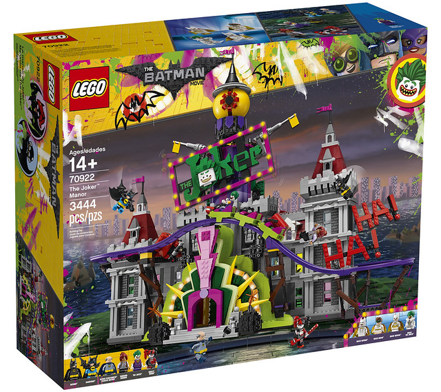 REVIEW LEGO 70922 The Joker Manor (The LEGO Batman Movie)