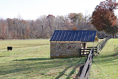 Stone Springhouse at Beaver Dam Farm