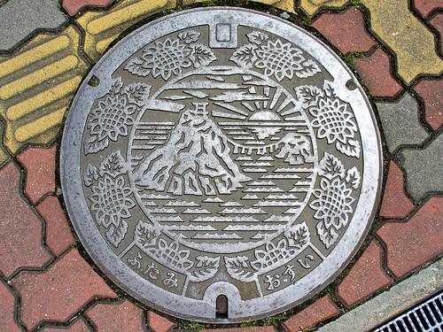 Futami Mie, manhole cover (三重県二見町のマンホール)