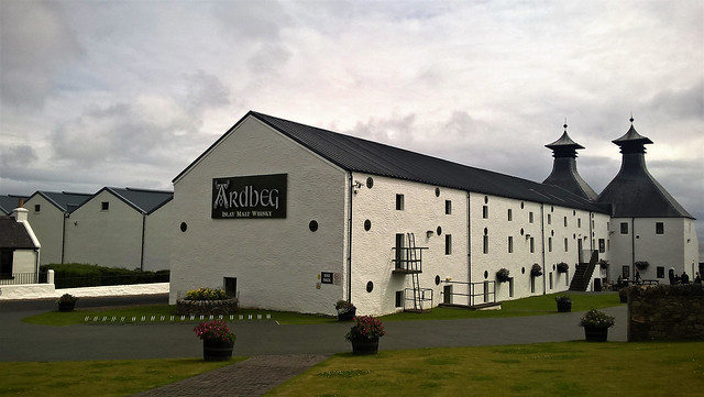 Ardbeg whiskey distillery, Islay, Scotland