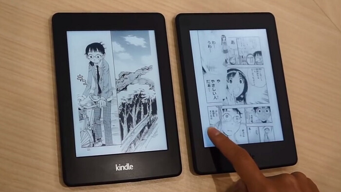 mangá digital no kindle