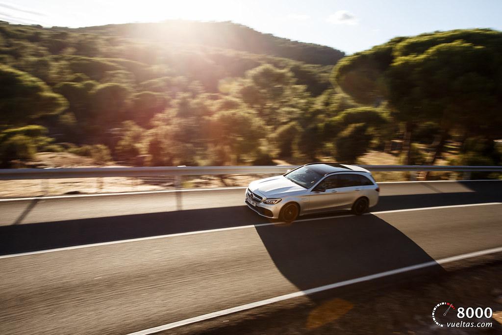 Mercedes C63 AMG S - 8000vueltas-12