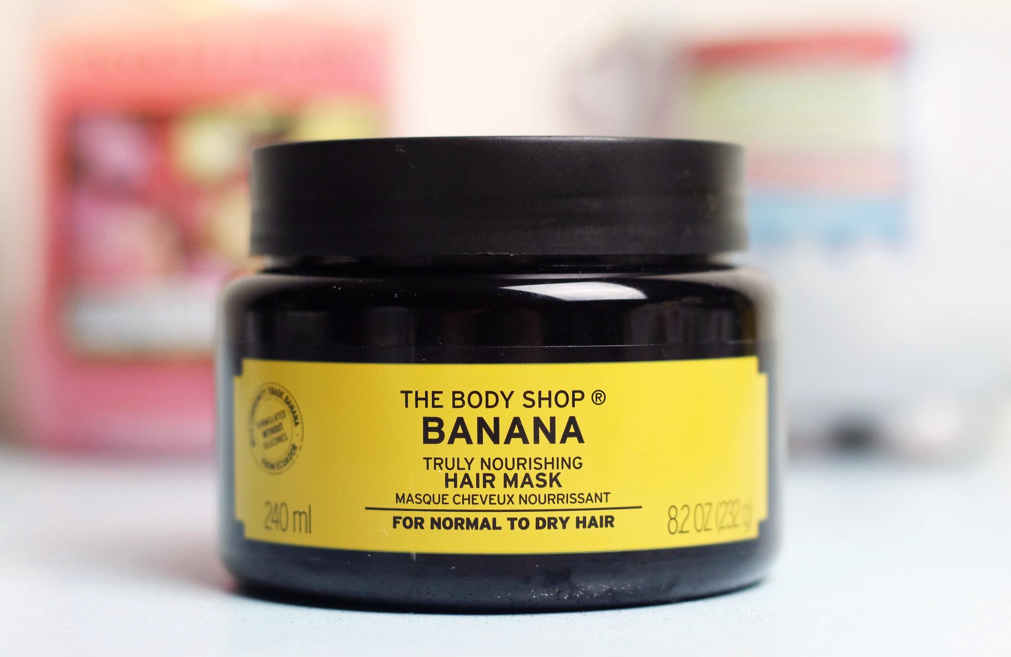 The Body Shop Banana Hair Mask