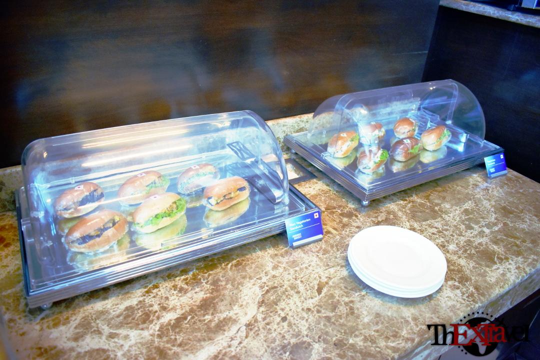 Amex Lounge Food1