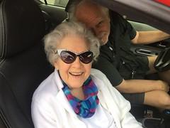 Gloria looking sassy at 90