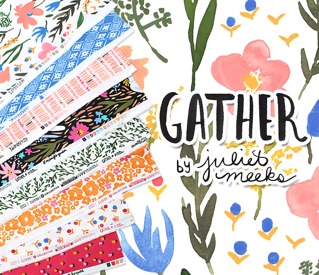 Cloud9 Fabrics Gather Collection by Juliet Meeks