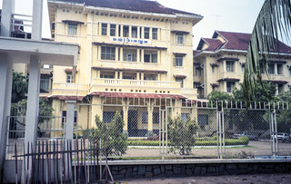 The Le Royal Hotel where UNVs were initially housed -- much of the movie THE KILLING FIELDS took place here