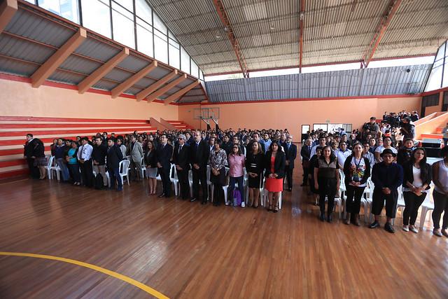Lanzamiento de la carrera de profesionalización docente UNAE
