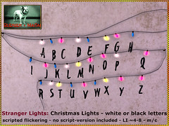 Bliensen - Stranger Lights - Christmas Lights