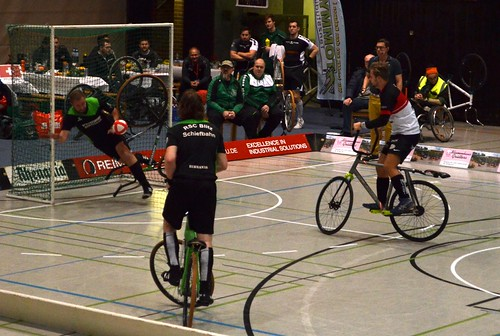 Radball-Weltpokal-Finale in Willich / cycle-ball wold cup final tournament