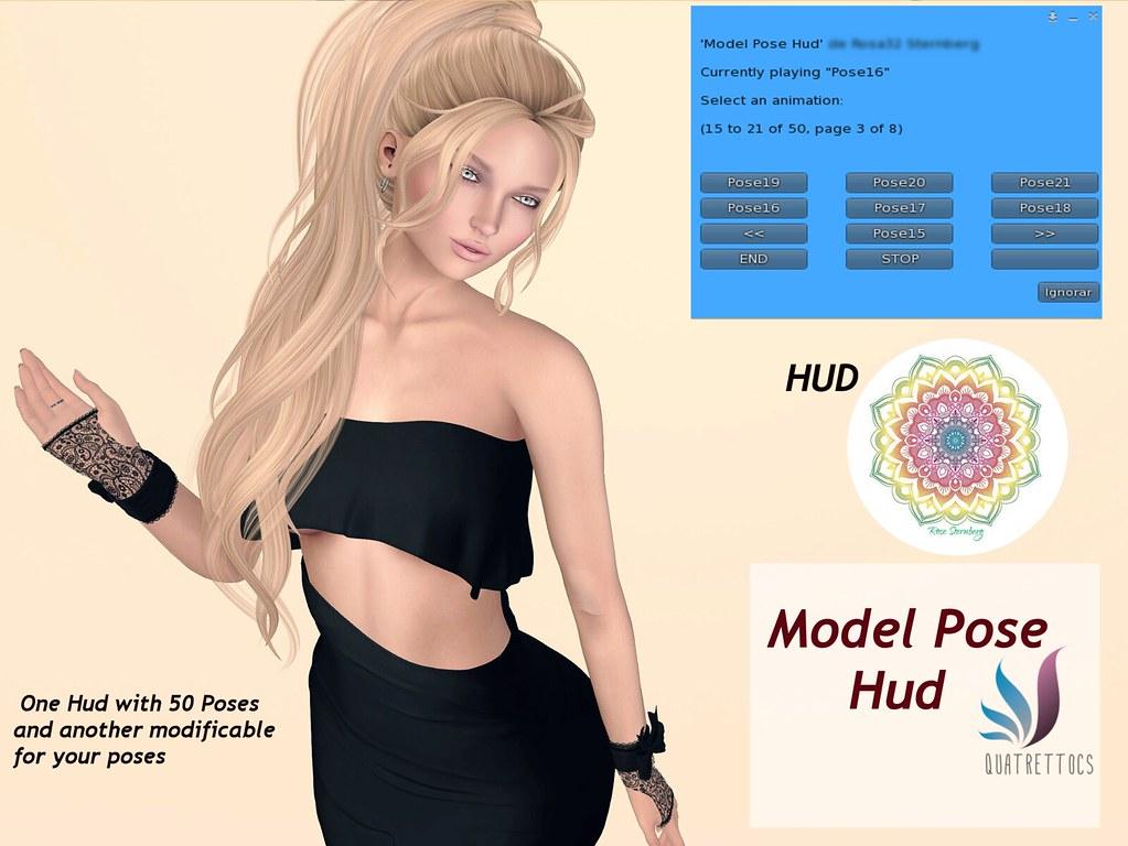 Model Pose Hud - TeleportHub.com Live!