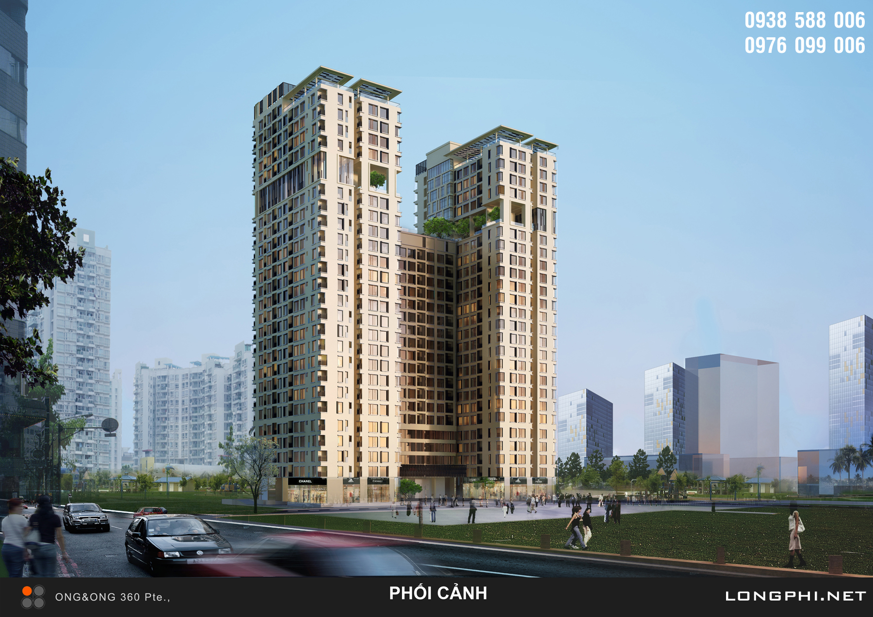 The Golden Star: căn hộ cao cấp bàn giao nội thất Châu Âu đẳng cấp của chủ đầu tư Hưng Lộc Phát.