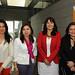 Claudia Yachan, Elizabeth Severino, Marcela Ríos y Alejandra Sepúlveda
