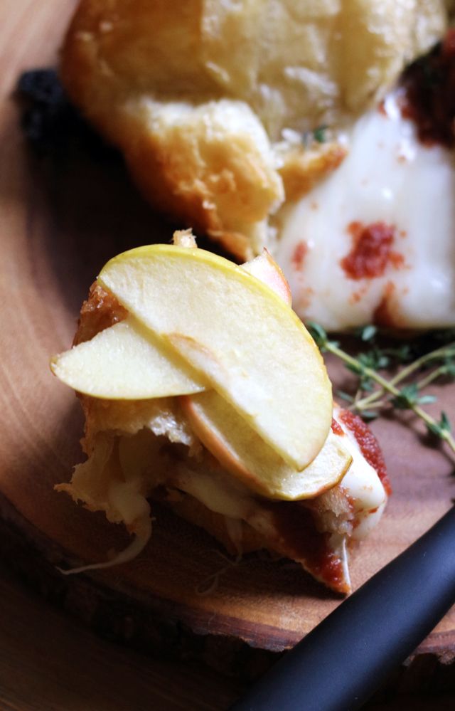 Butter-Roasted Maple Apple Baked Brie