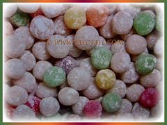 Colourful starchy balls of Manihot esculenta (Tapioca, Cassava, Brazilian Arrowroot, Yuca, Ubi Kayu in Malay), 17 Nov 2017