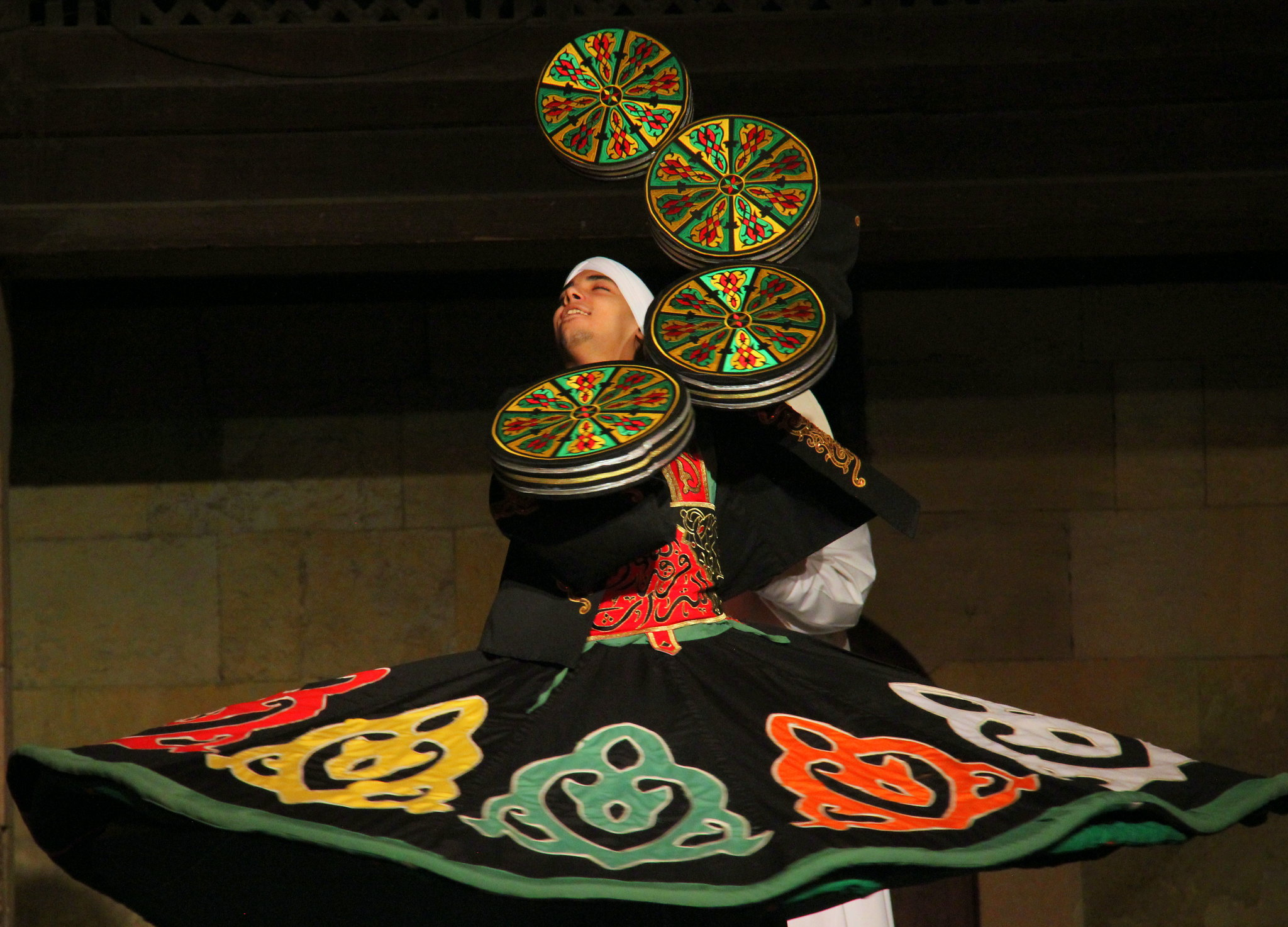 The finale of Tanoura is mesmerizing