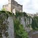 Chepstow Castle cliffs 2