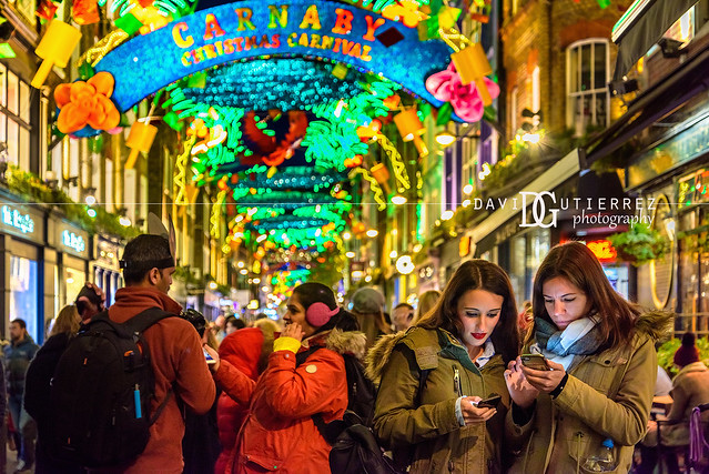 Christmas Spirit - Carnaby Street, London, UK