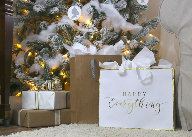 Neutral Simple Wrapping Paper Packages