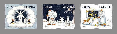 Ziemassvētku pastmarkas